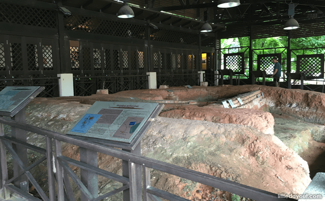 The Archaeological Dig, Singapore