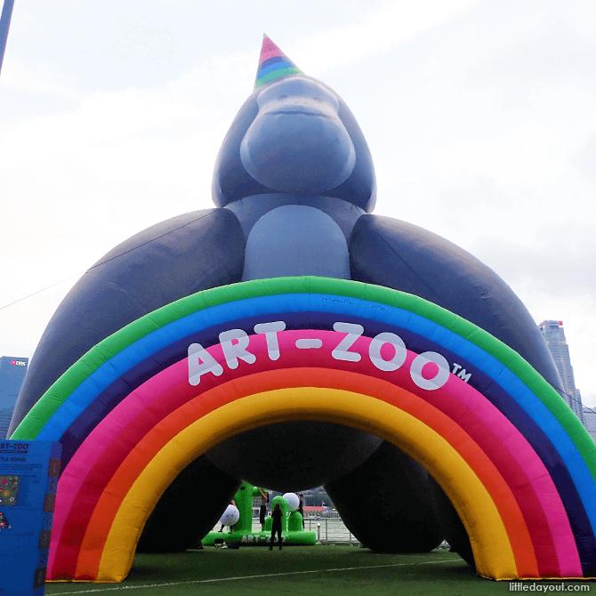 Little Kong, Art-Zoo 2018 at The Float @ Marina Bay