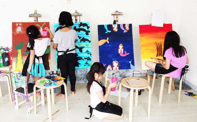 Artify Studio - Place to Go Art Jamming In Singapore
