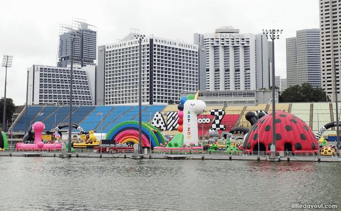 Art-Zoo at The Float@Marina Bay