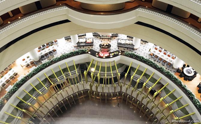 View of the Atrium at Holiday Inn Atrium