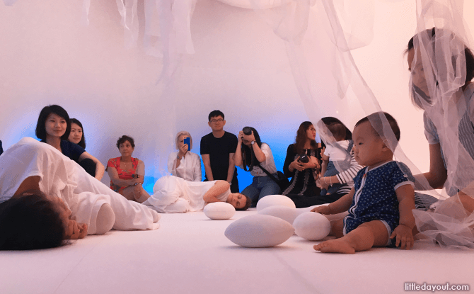 Performance at Baby Space at The Artground