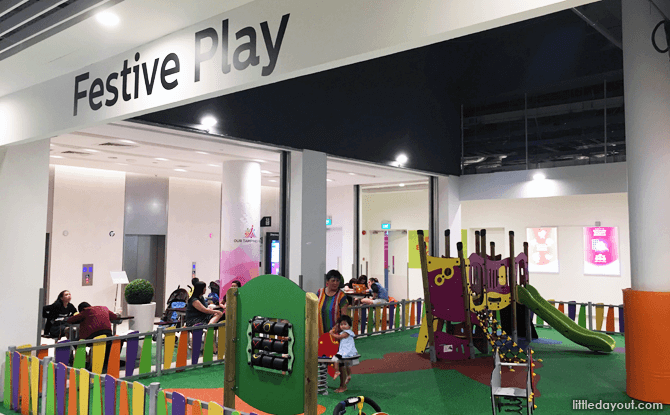 Our Tampines Hub Basement Playground
