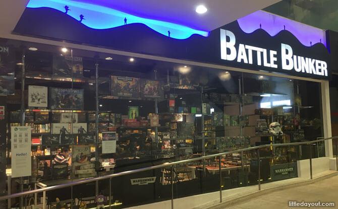 Battle Bunker West Coast Plaza