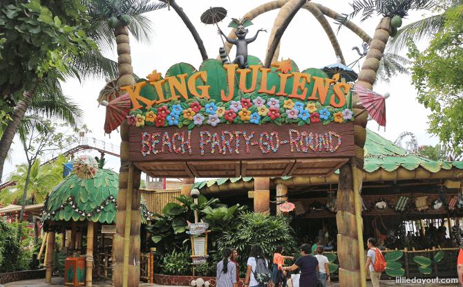 King Julien's Beach Party-Go-Round