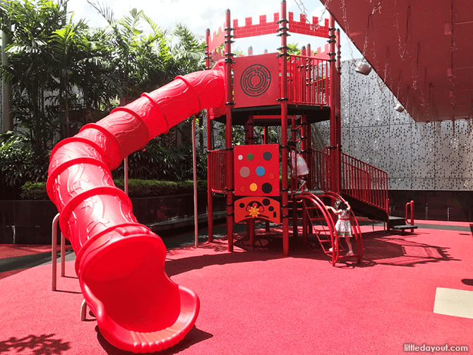 Playground structure for older kids