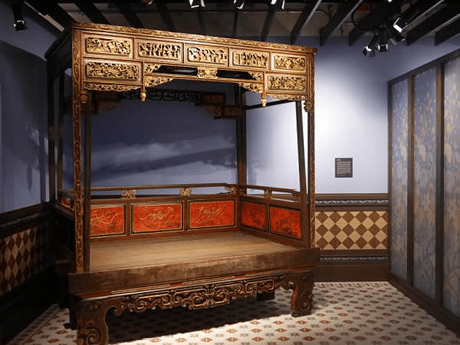Peranakan Wedding Bed