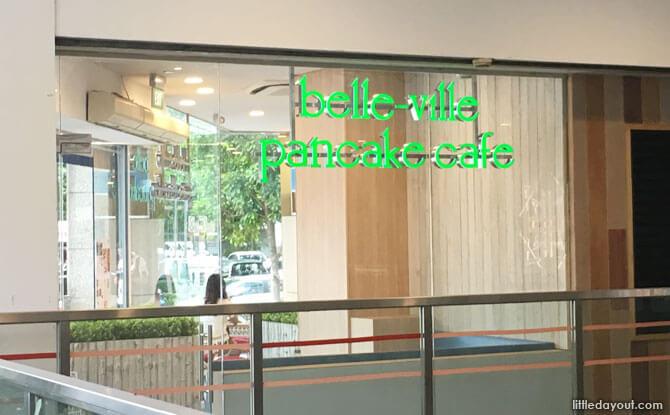 Belle-Ville Pancafe Café, Bugis Junction