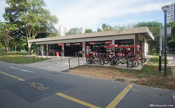Bike Kiosk at East Coast Park