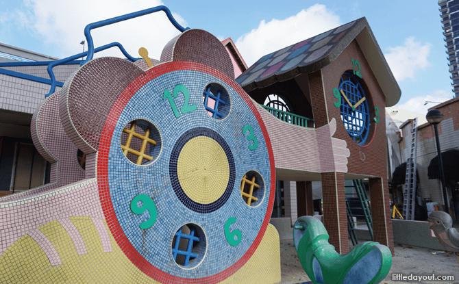 Mosaic Bishan Clock Playground
