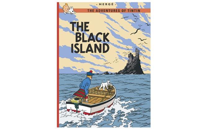 Tintin The Black Island