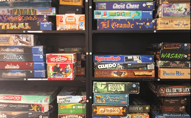 Board Games at Play Nation