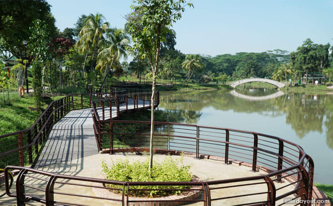 Boardwalks at Marsiling Park