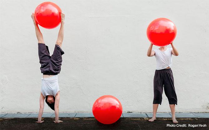i.i Apart | Together - Bornfire Circus - Circus Weekend, Esplanade