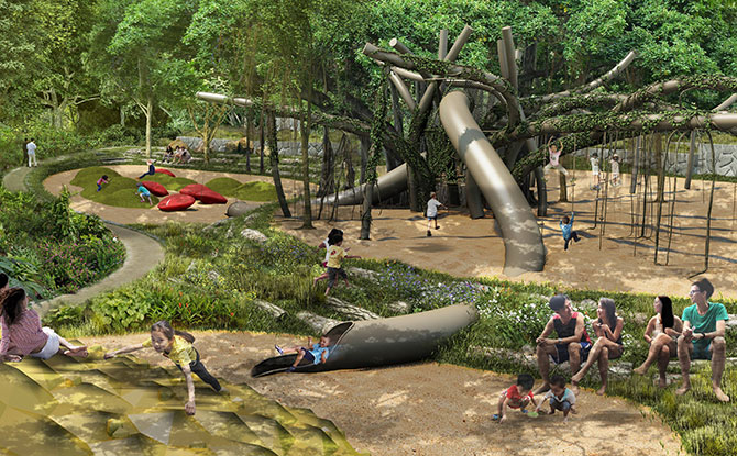 NParks Provides More Details About The Gallop Extension At Singapore Botanic Gardens