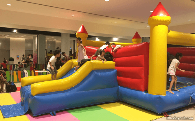 Bouncy Castle at Our Tampines Hub