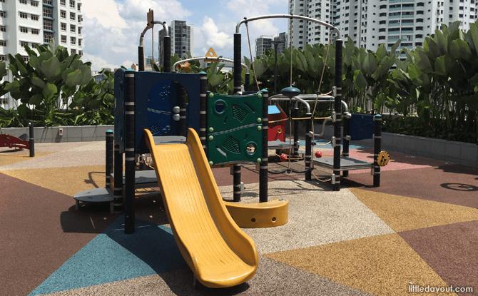 Bukit Panjang Plaza Playground Play Equipment