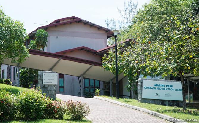 Sisters' Islands Marine Park Public Gallery Building On St John's Island