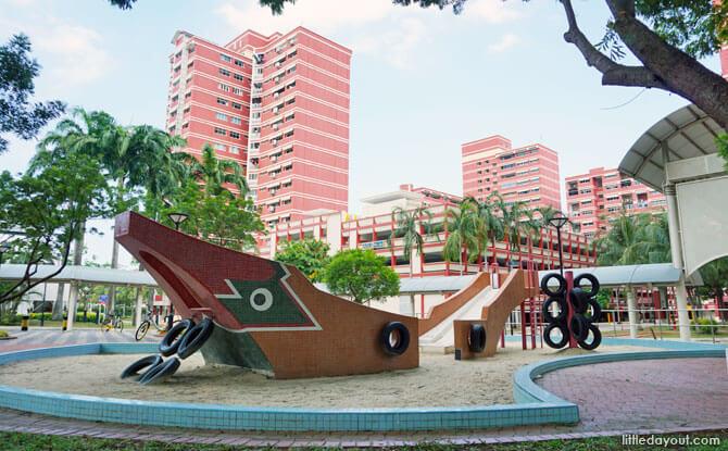Pasir Ris Bumboat Playground (AKA Sampan Playground)