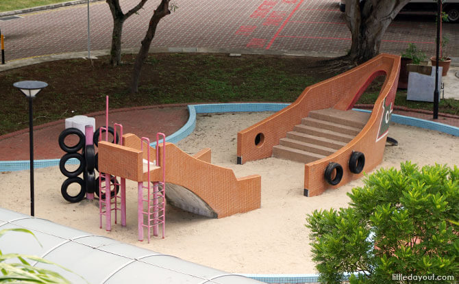 Overview of Pasir Ris Bumboat Playground