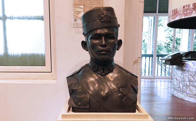 Bust of Lieutenant Adnan
