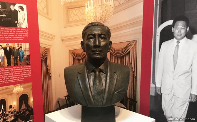 Bust of Encik Yusof bin Ishak