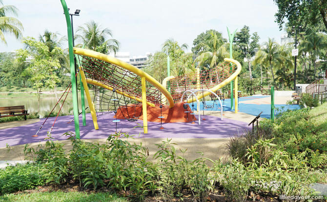 Butterfly playground, Marsiling Park