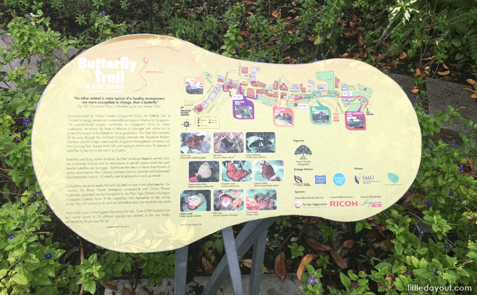 Butterfly Trail at Istana Park