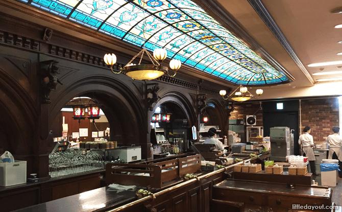 Ishiya Chocolate Factory's café