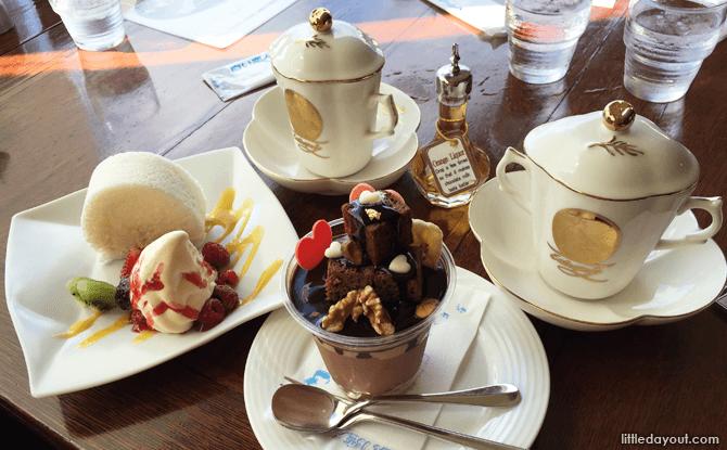 Ishiya Chocolate Factory's café food