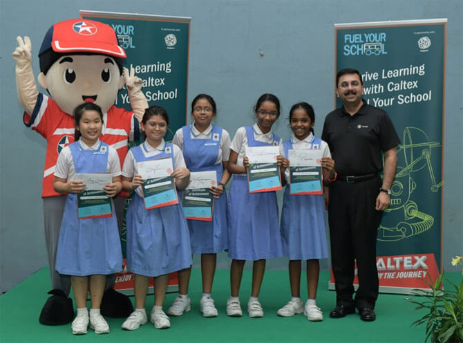 Caltex Fuel Your School – Tech Jam At Science Centre Singapore: Turning E-Waste Into Robots