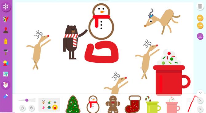 Santa's Canvas