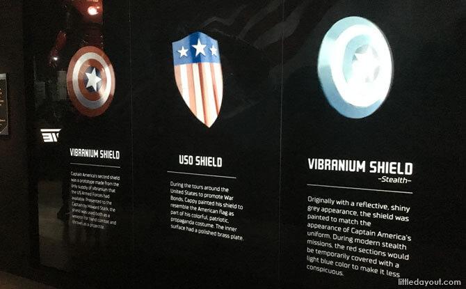 Captain America Shields, ArtScience Museum Singapore