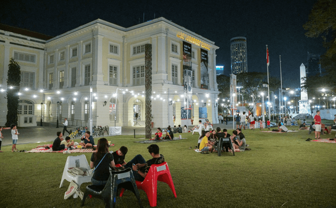 Car-Free Countdown @ Civic District - New Year's Eve Celebrations 2018
