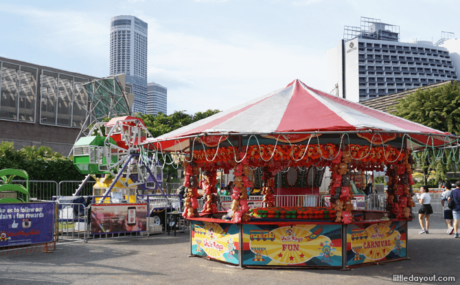 Amusement Rides and Games at River Hongbao 2018