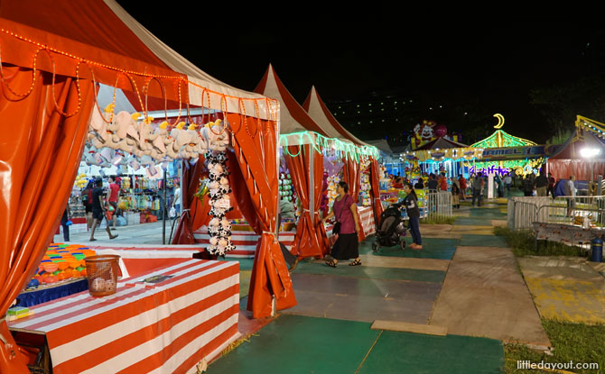Carnival at the Geylang Bazaar