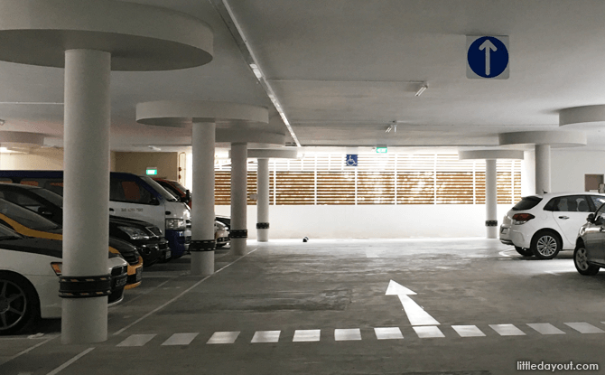 Yishun Park Hawker Centre Car park