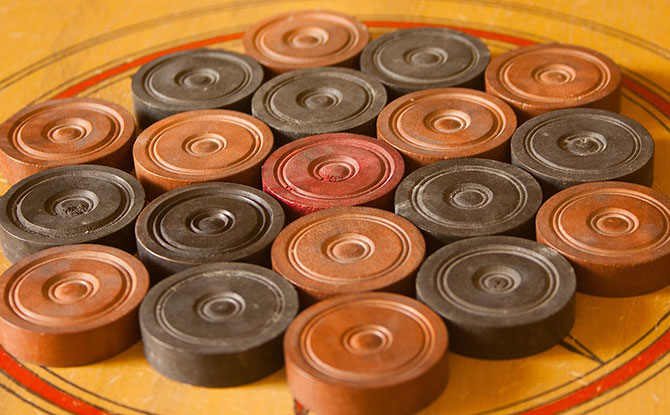Carrom: A Family Tabletop Game Of Angles