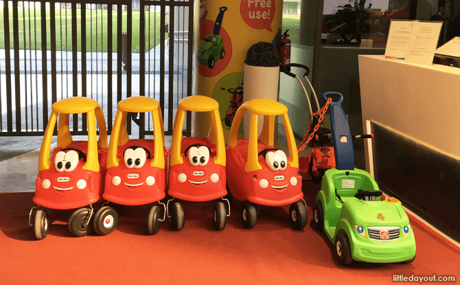 Car Strollers at Our Tampines Hub