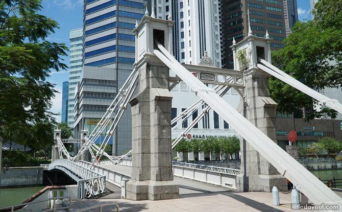 Singapore's Cavenagh Bridge