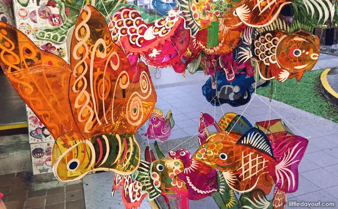 Cellophane Mid-Autumn Festival Lanterns
