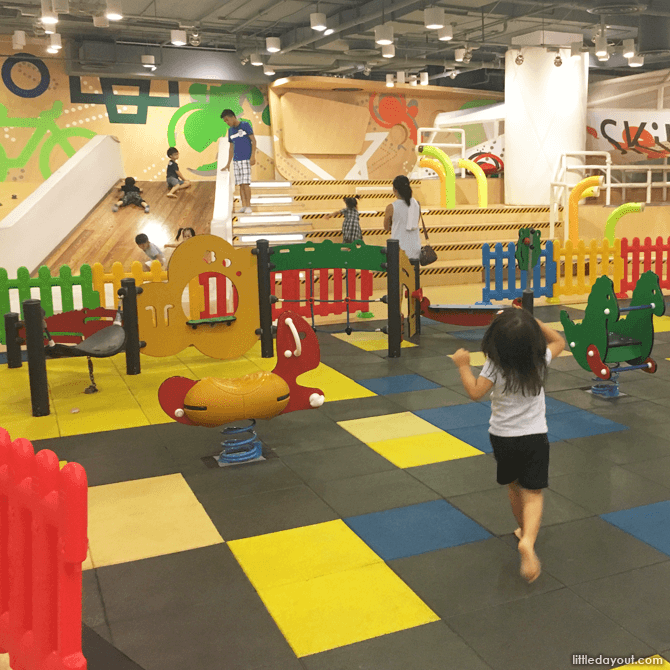 CentralWorld Bangkok Kids Play Area