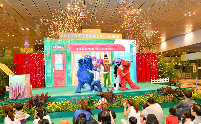 LIVE Sesame Street Show, Changi Airport