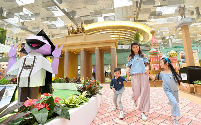 Discover Europe Exhibition, Changi Airport June School Holidays 2018