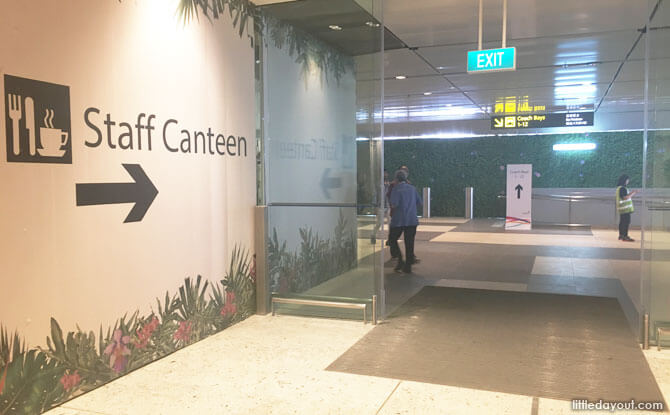 How to get to Changi Airport Terminal 1 Staff Canteen