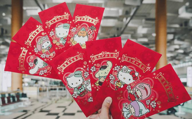 Hello Kitty and Sanrio-themed Ang Pows