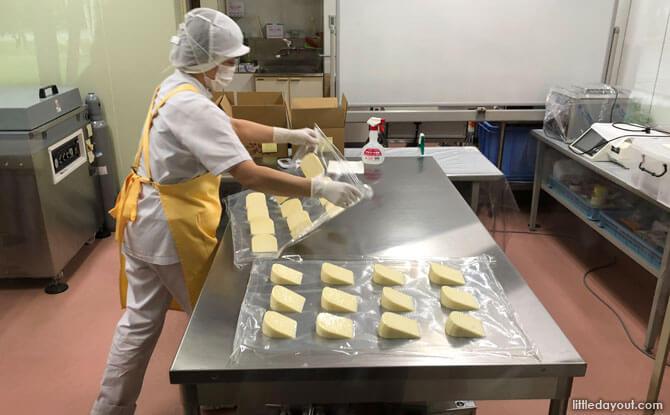 Cheese factory, Furano