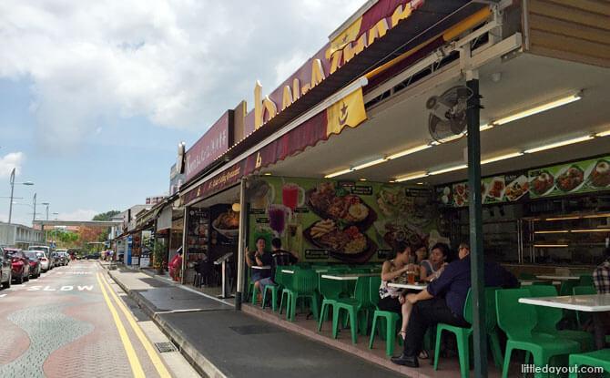Eateries along Cheong Chin Nam Road