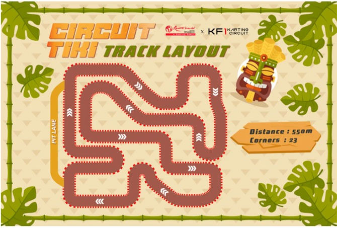 Circuit Tiki: Singapore's First Indoor Karting Circuit