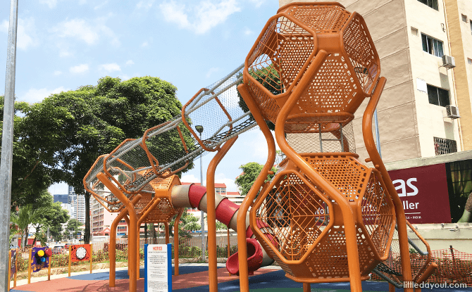 Elevated City Square Mall Playground
